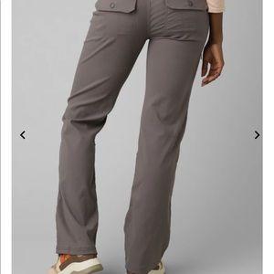 Prana Halle roll up hiking pant-dark gray-2